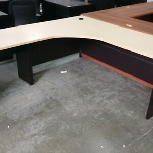Used - L Shaped Desk - #6524