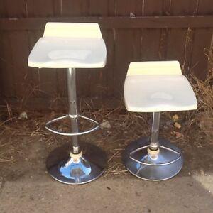 Two gas  stools. Mount Pleasant Ballarat City Preview