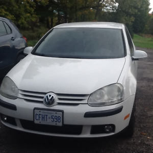 Candy White, 2008 Volkswagon Rabbit for sale.