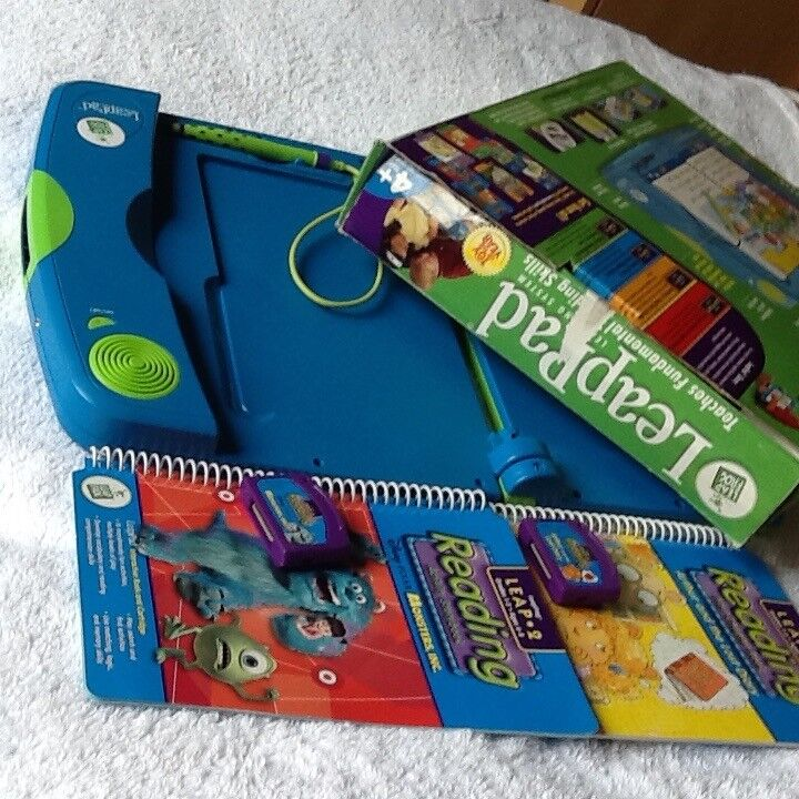 Leap Pad (Leap Frog) Learning System books and cartridges