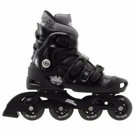 No Fear Inline Skates, adult size 9-12