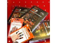 John Lewis Halloween bundle - monster puppets, Bat Pom Poms, spooky nails and fingers - all NEW.