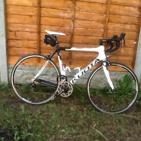 Kuota Korsa Carbon Road Bike .. Reluctant sale £700 ovno