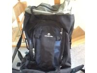 Rucksack and small back pack