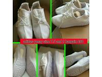 Adidas yeezy's mens trainers white bargain new