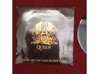 QUEEN-BOHEMIAN RHAPSODY/THESE ARE THE DAYS OF OUR LIVES