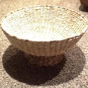 IKEA Wicker Bowl