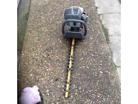 Ryobi Petrol Hedge Cutter works great can be seen working cb5 £55