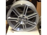 """Seat Leon NEW GENUINE OE 18"""" Polished Silver Alloy Wheels BBS 1P0 071 491"""