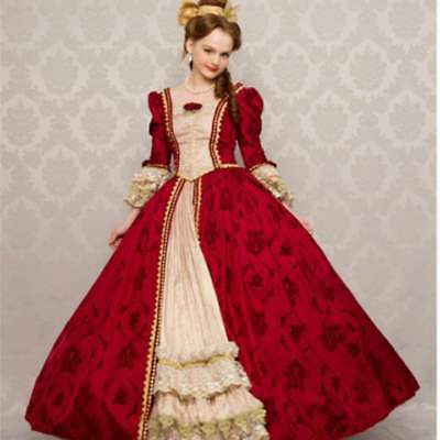 Holiday Christmas Belle Beauty and the Beast Costume Dress From JAPAN F/S
