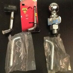 NEW Hitch Accessories ( Qty = 4 items)