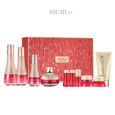 SUM37 Fleur Regenerative SkinCare Set Anti-aging Ant-Wrinkle Moisture K-Beauty