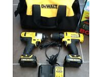 De Walt impact driver and drill
