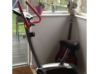 York exercise bike good condition with gel comfort saddle.