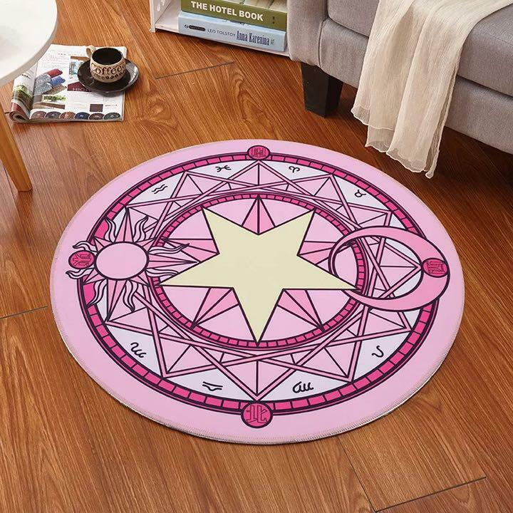 Cardcaptor Sakura Magic Circle Rug Card Captor #11013