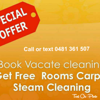End of lease cleaning/Get free carpet steam cleaning