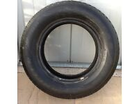 Goodyear wrangler 255/65R17 full tread x spare..
