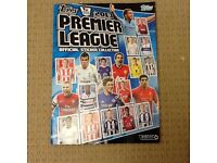 Topps premier league 2013 sticker book. Half complete. Excellent condition.