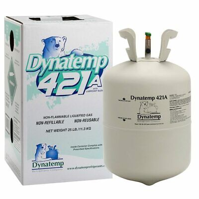 R421a 421a R-421a Refrigerant 25lb Cylinder - R22 R-22 Drop In Replacement