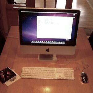 Apple iMac (mi-2007), 20 pouces, 2,4GHz Core 2 Duo, 3 Go de RAM