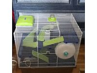 I large hamster cage and 1 medium sized cage ,excellent condition