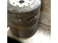 Ifor Williams Horse trailer wheels and tires