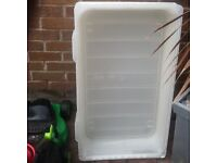 Under bed storage tubs X 3 cost £45 to clear £9.99