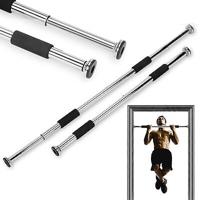 DOOR EXERCISE BAR CHIN UP PULL UP STRENGTH FITNESS GYM DIP WORKOUT EXERCISE
