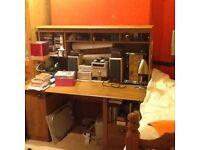 Desk 150cm L X 76cm D X 142cm H