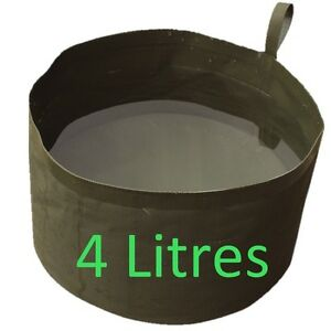 MILITARY-4L-COLLAPSIBLE-WATER-BOWL-CAMPING-FIELDCRAFT-WASH-BASIN-CAMPING-COOKING