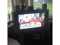 """30"""" Sony Bravia TV and free view box"""