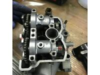 Kxf 250 full cylinder head in mint condition