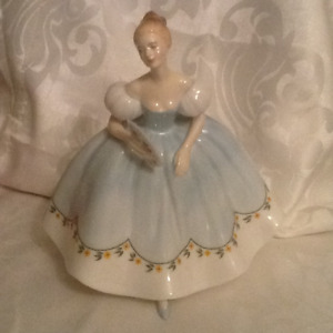 Vintage Royal Doulton Lady Figurine First Dance