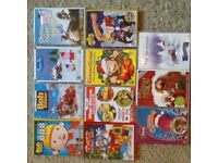 Bundle of 11 kids DVDs