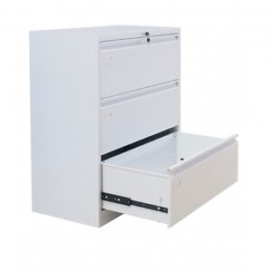 New - Economical 3 Drawer Lateral File Cabinet  - #4838