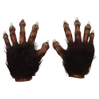 Braun Biest Werwolf Klauen Hände Ghoulish Erwachsene Halloween Kostüm