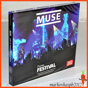 MUSE-Live-At-iTunes-Festival-UK-2012-CD-DVD-Digipak-Issue-Box-Photo-Live-Shinoda