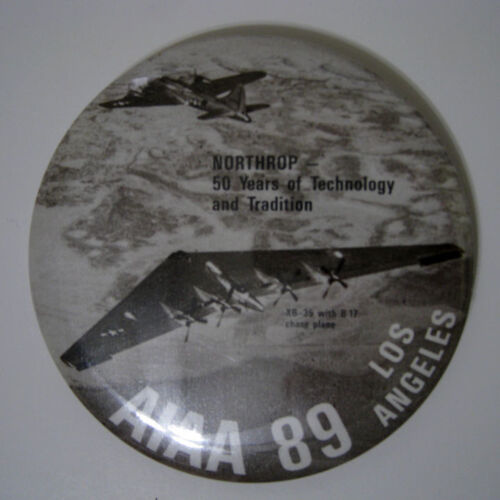 Northrup ® 50 Years Of Technology And Tradition - Aviation Aircraft - Badge New