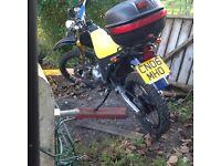 MAXUs 125cc x-dirt 125 max motorcycle
