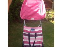 Buggy lightweight with raincover and canopy £8 collect Romford