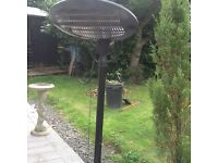 Patio heater electric