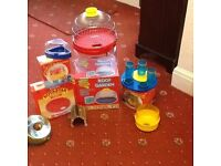 Rotastak hamster Roof garden cage/Roundabout/Dome and various other accessories