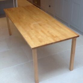 Dining table seats up to 10 / desk table