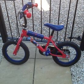 Boys Spider Man Bicycle & Scooter