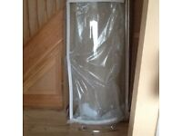 Brand new still boxed shower screen for P shaped bath