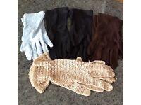8 pairs of women's gloves