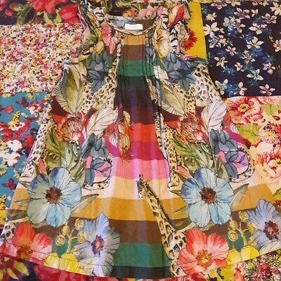 NEXT 12-18 GIRLS SUMMER DRESS GIRAFFE LEOPARD FLORAL SAFARI PRINT  - Next Giraffe Dress