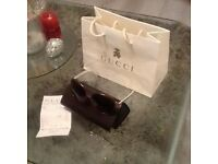 Gucci sunglasses - brand new, boxed and with original receipt.