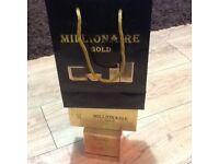Joblot millionaire gold
