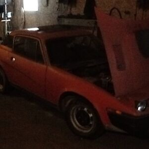 Rare Triumph Spitfire TR7 5 speed best offer!